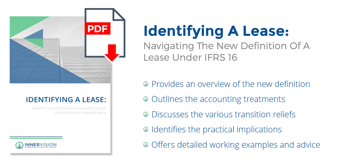 Identifying a Lease - The New Definition of a Lease